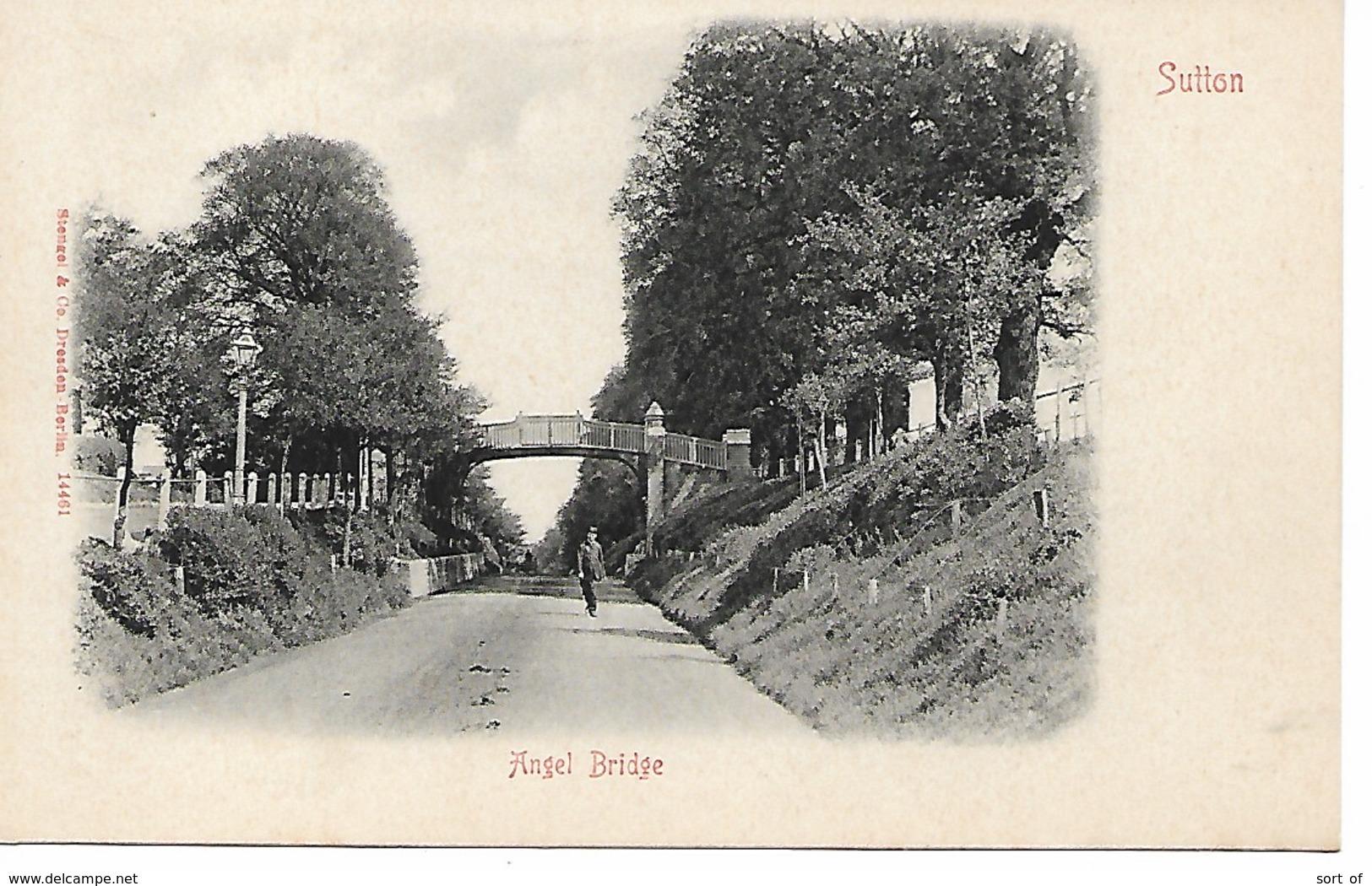 SURREY - SUTTON - ANGEL BRIDGE - B214 - Surrey