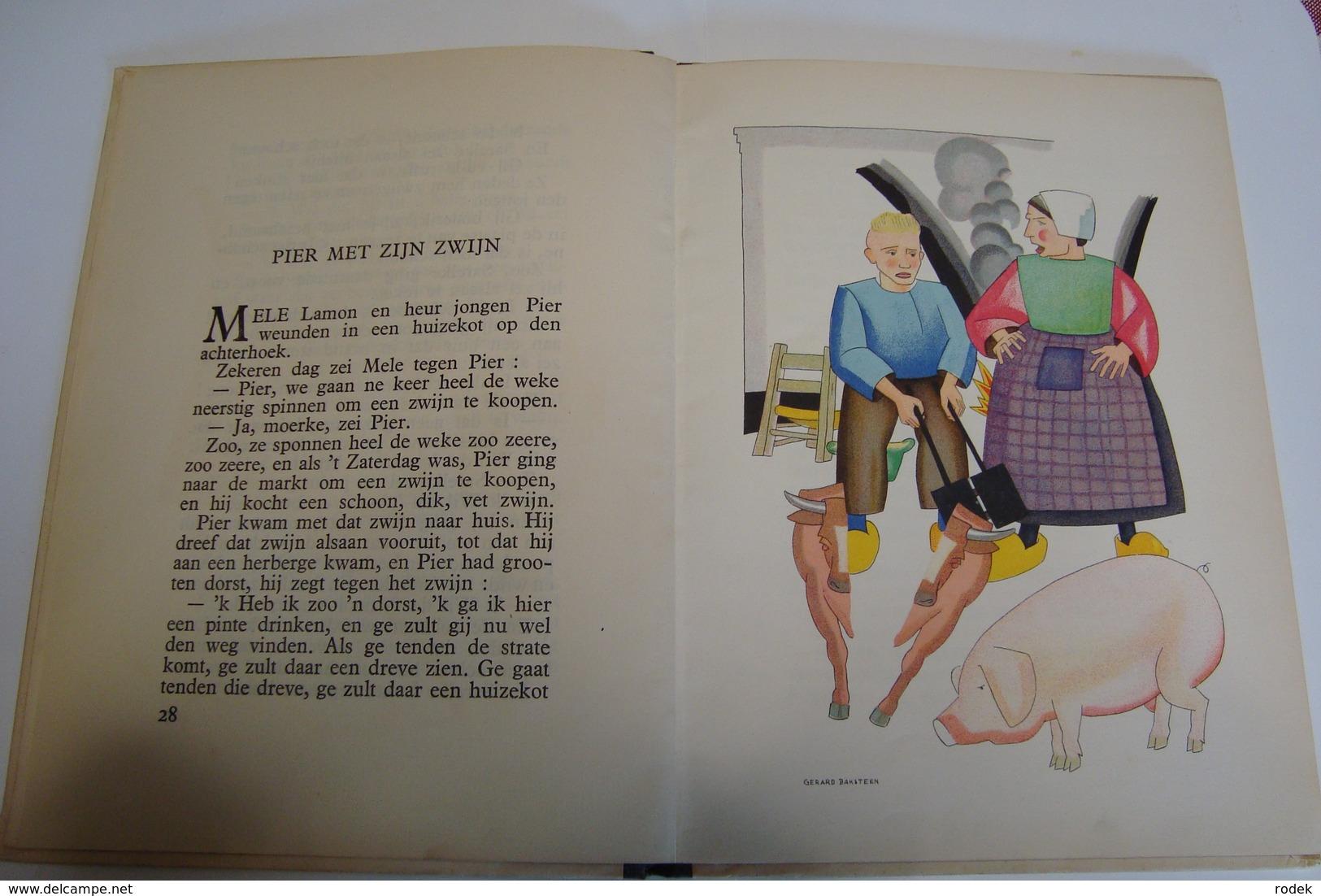 Prutske's Vertelselboek ( Stijn Streuvels ) Met Prenten Van Gerard Baksteen - Books, Magazines, Comics
