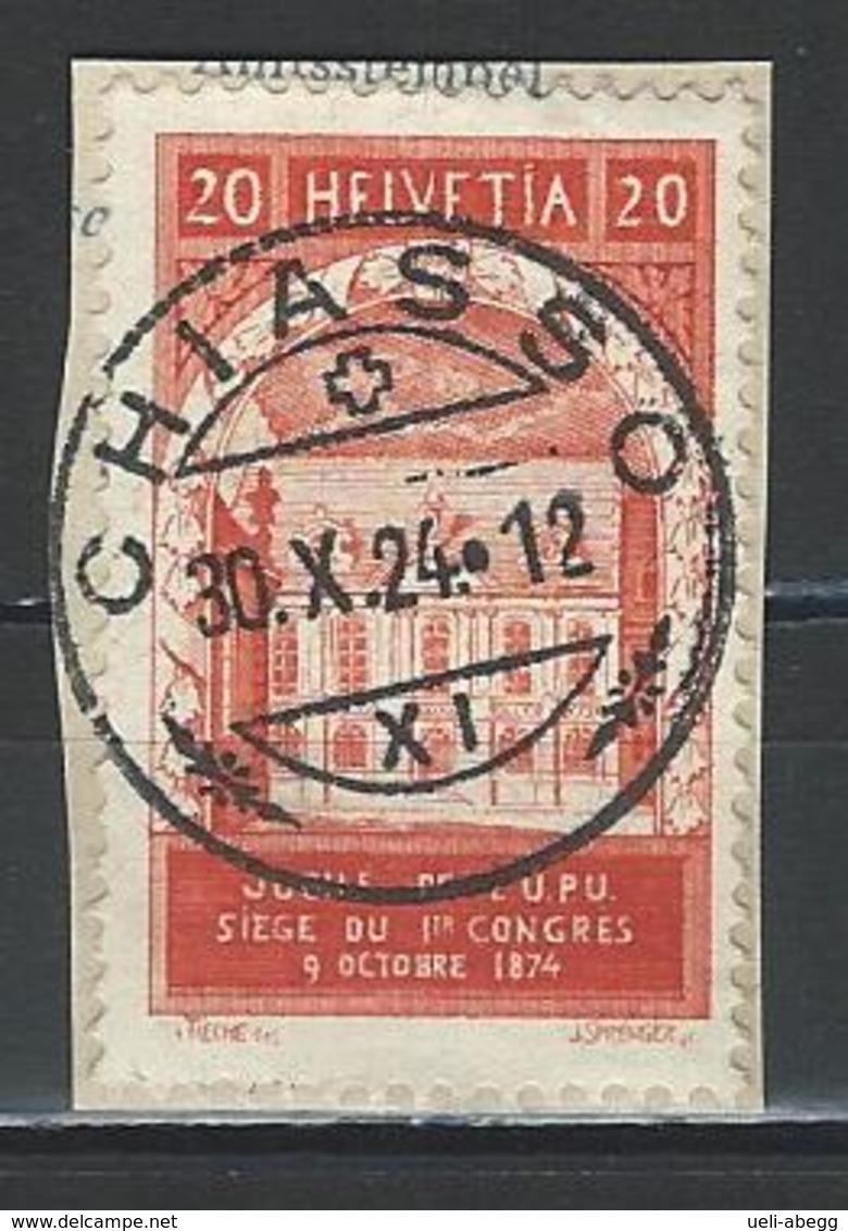 SBK 167 Stempel Chiasso - Storia Postale
