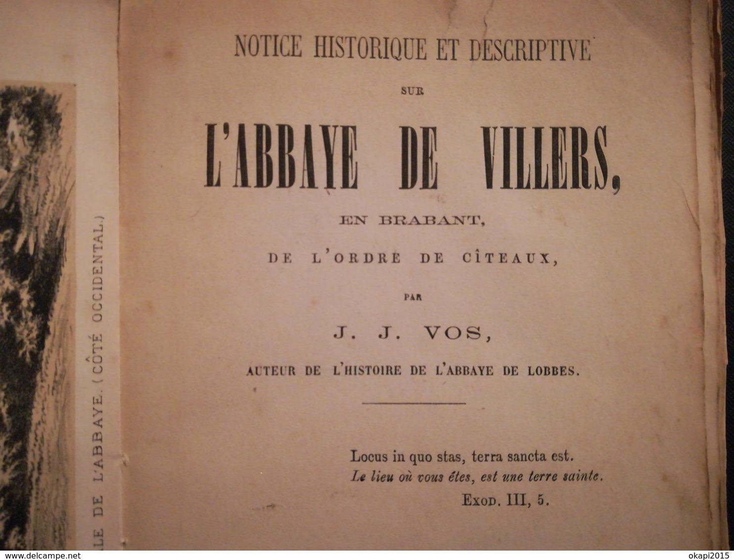 L'abbaye De Villers Abbaye De Villers-en-Brabant Villers-la-Ville Brabant Wallon  Livre Ancien Régionalisme Belgique - Belgique