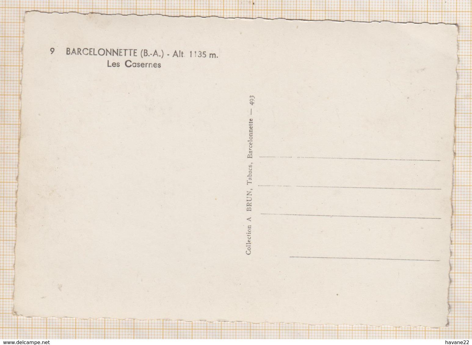 8AK3170  BARCELONNETTE LES CASERNES 2 SCANS - Barcelonnette