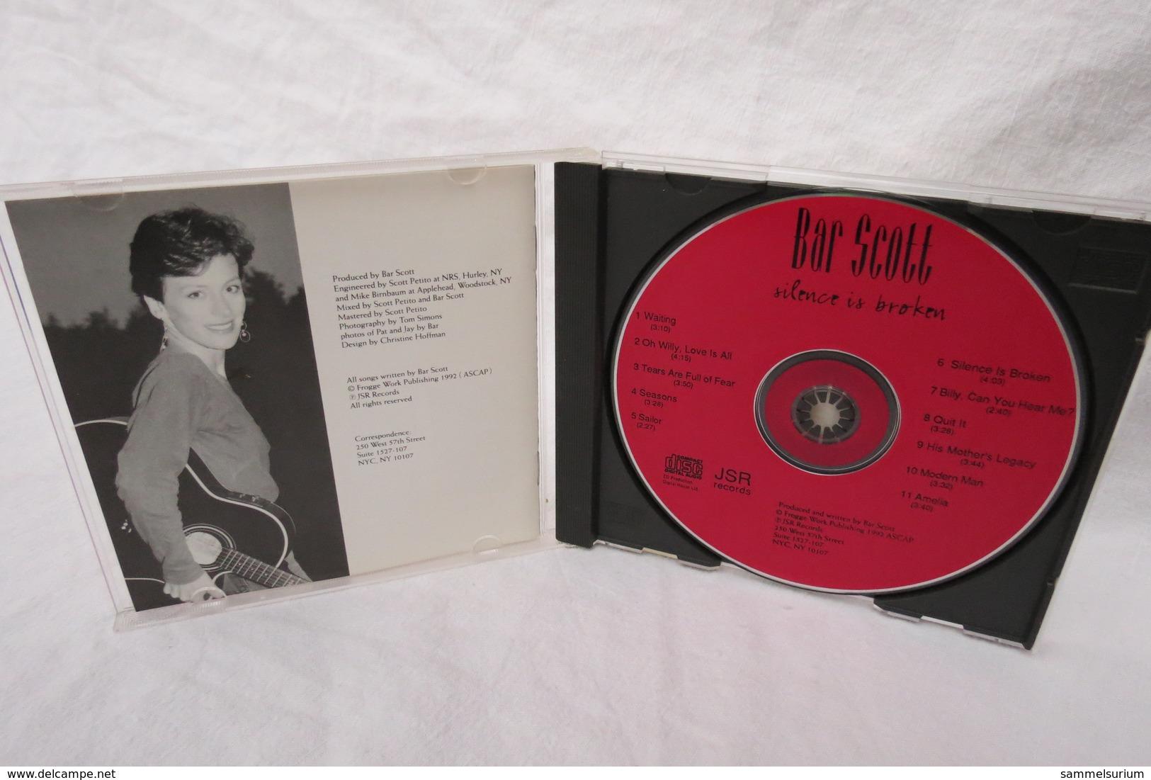 """CD """"Bar Scott"""" Silence Is Broken - Instrumental"""