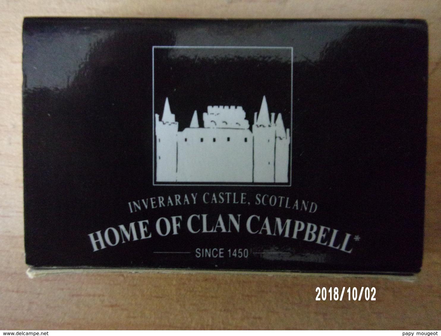 "Boite D'allumettes Vide ""Clan Campbell"" - Cajas De Cerillas (fósforos)"