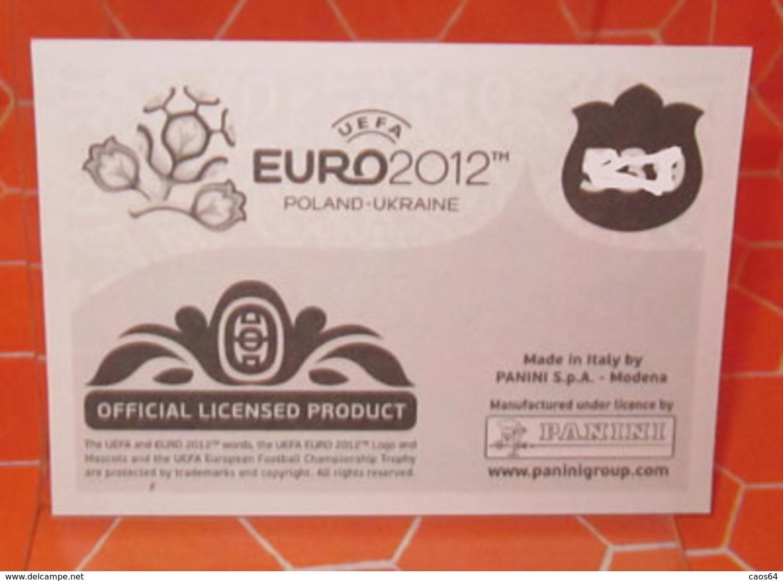 EURO2012 PANINI N. 321 BALZARETTI  STICKER NEW CON VELINA - Panini