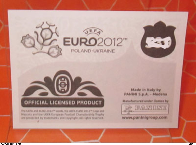 EURO2012 PANINI N. 320 RANOCCHIA  STICKER NEW CON VELINA - Panini