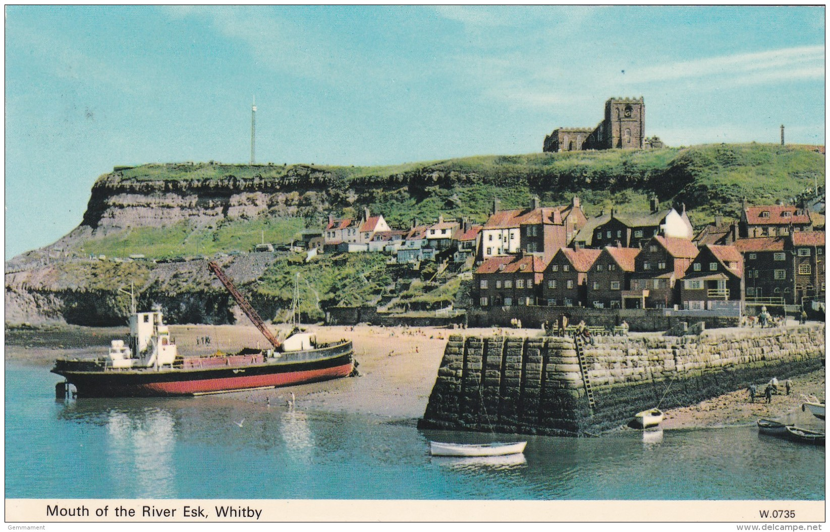 WHITBY - MOUTH OF THE RIVER ESK - Whitby