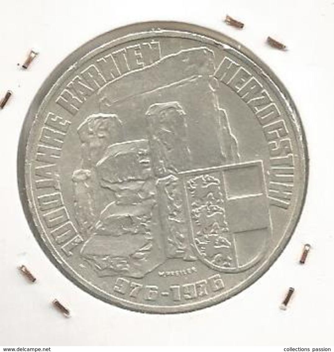 Monnaie, AUTRICHE , Republik OSTERREICH , 100 Schilling , 1976 , 1000 Jahre Harnten Herzogstuhi ,2 Scans , Frais Fr 2.95 - Autriche