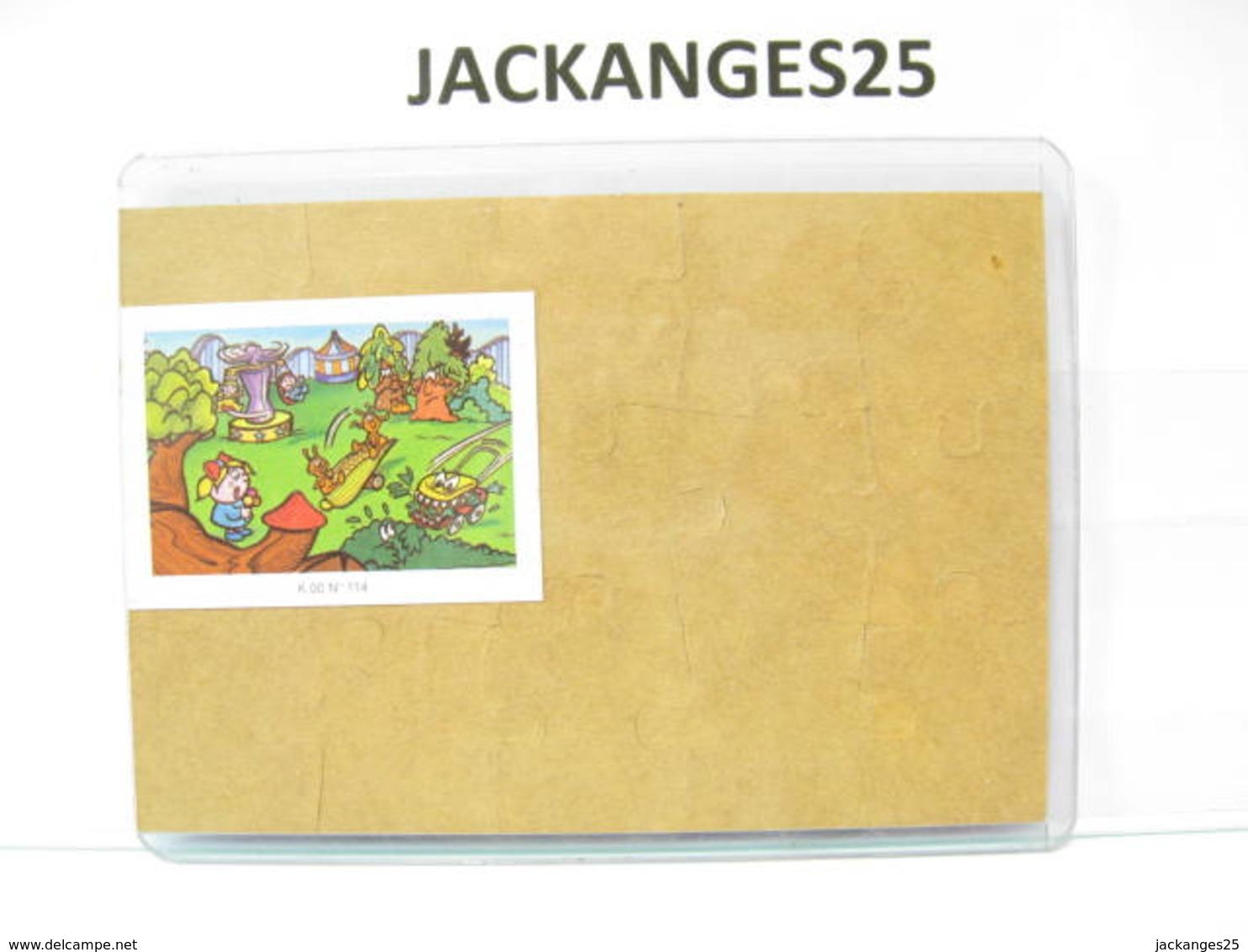 KINDER PUZZLE K00 N 114 1999 + BPZ - Puzzles