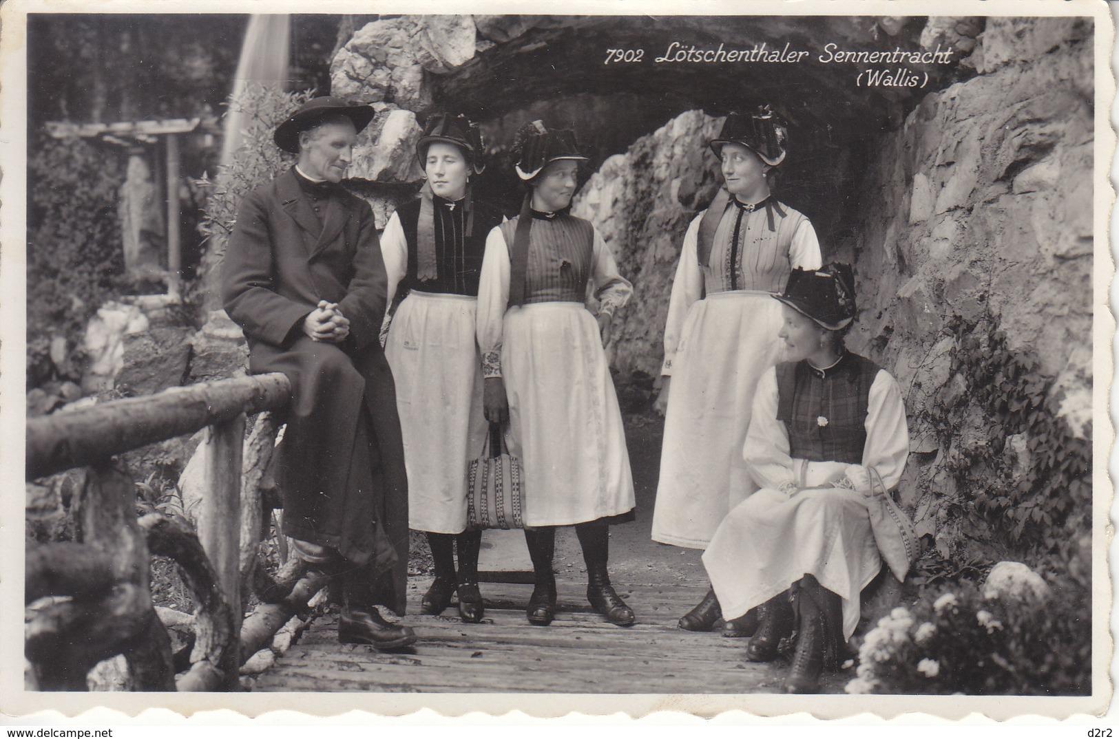 LÖTSCHENTHALER SENNENTRACHT - ANIMEE - 1953 - VS Valais