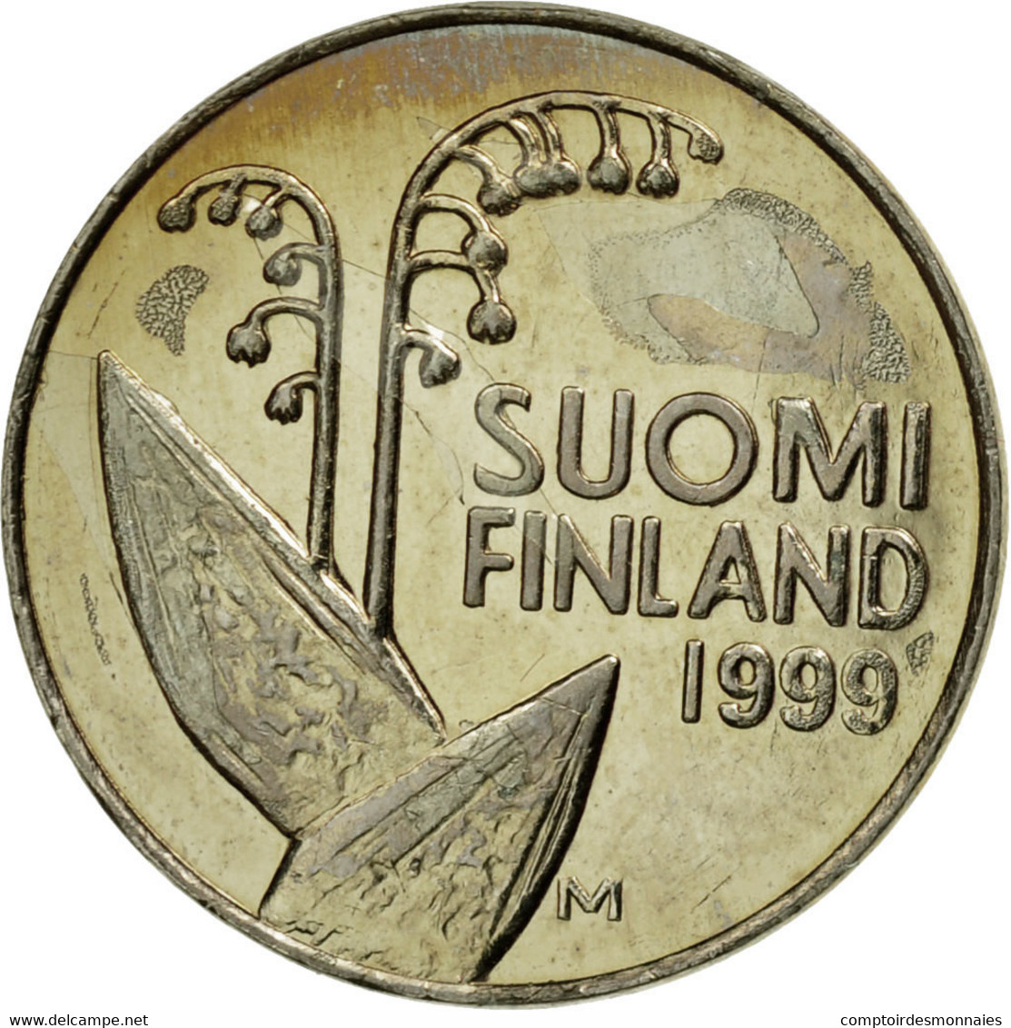 Monnaie, Finlande, 10 Pennia, 1999, TTB, Copper-nickel, KM:65 - Finlande