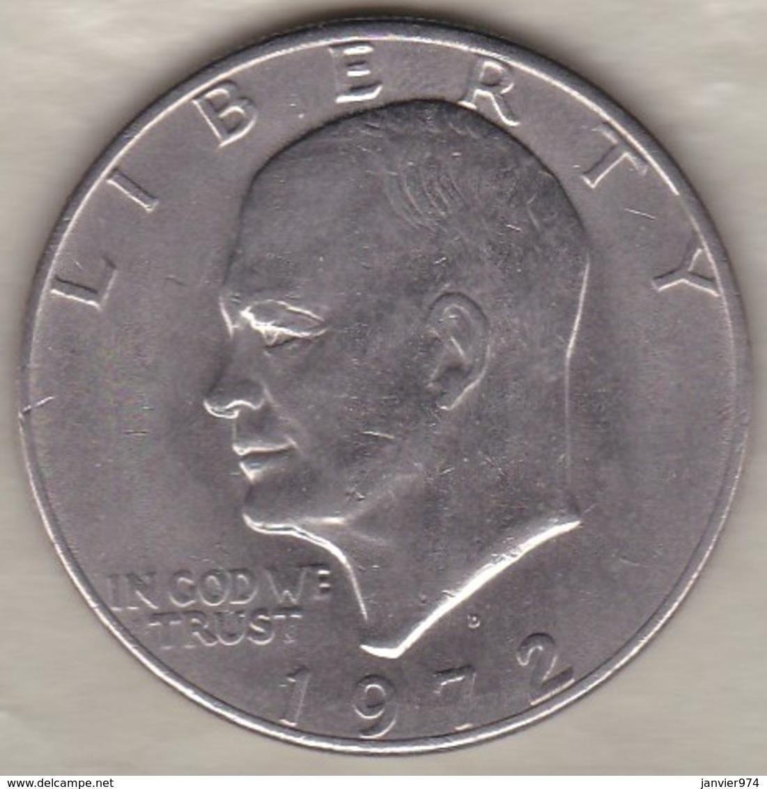 Etats Unis .1 Dollar 1972 D Denvers. Eisenhower - Emissioni Federali