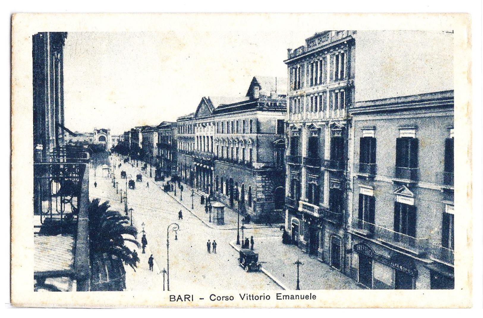 Bari - Corso Vittorio Emanuele. 1930 - Bari