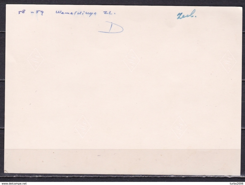 1958 Wemeldinge Gezicht Op De Molens En Lichter Elisabeth Z/W Foto Ongebruikt - Andere