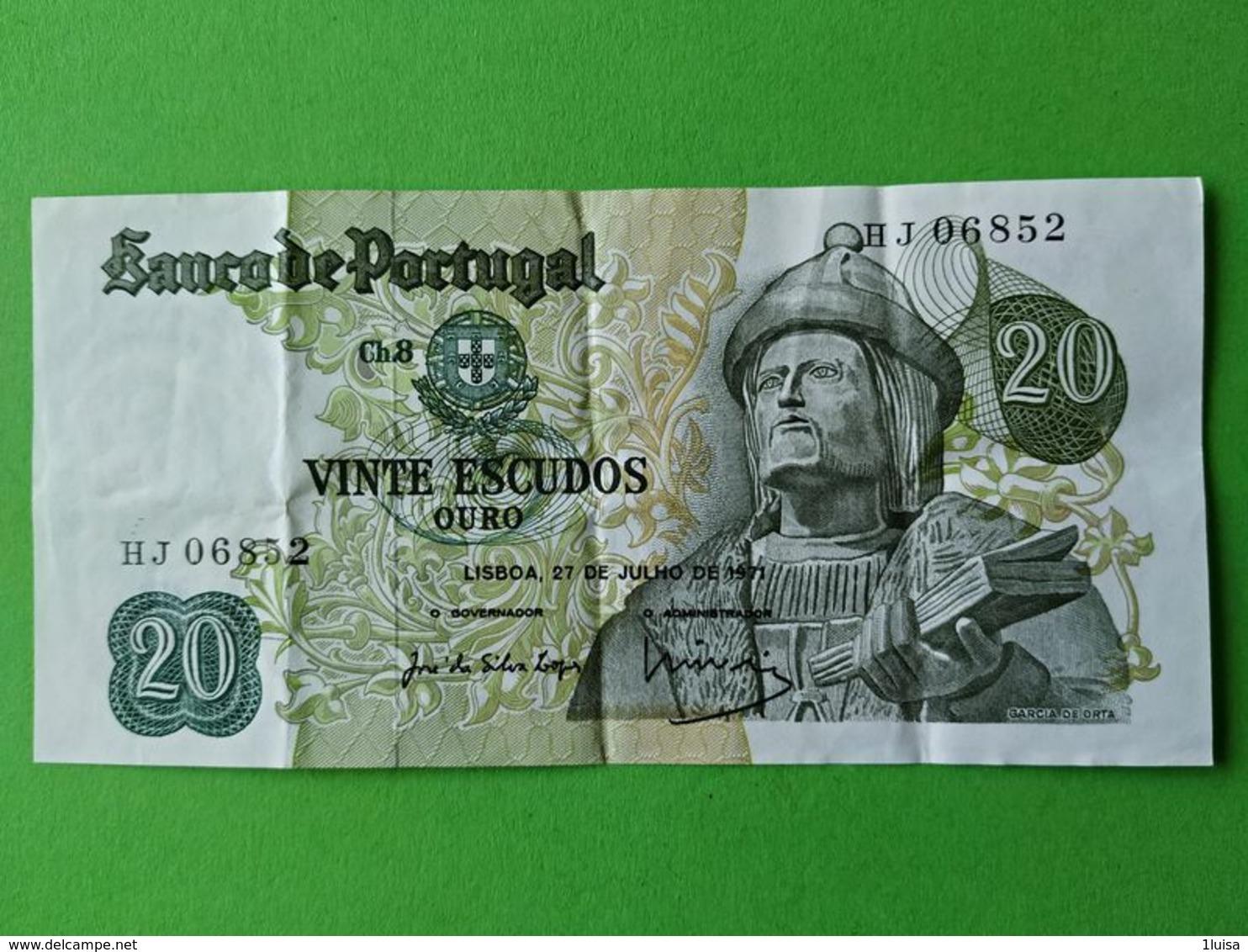 20 Escudos 1971 - Portogallo