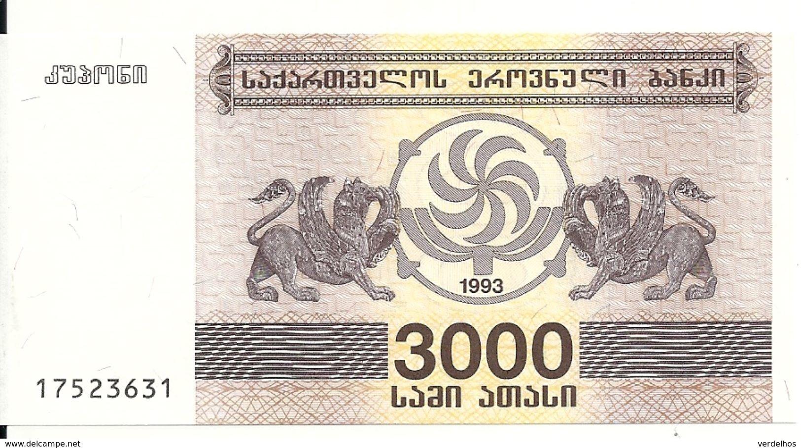 GEORGIE 3000 LARIS 1993 UNC P 45 - Géorgie