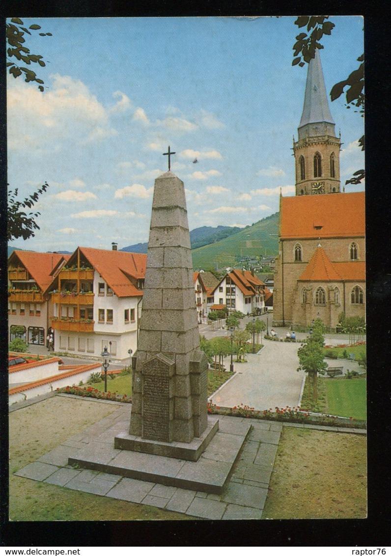 CPM Neuve Allemagne KAPPELRODECK Das Kriegerdenkmal Und Die Kirche - Deutschland