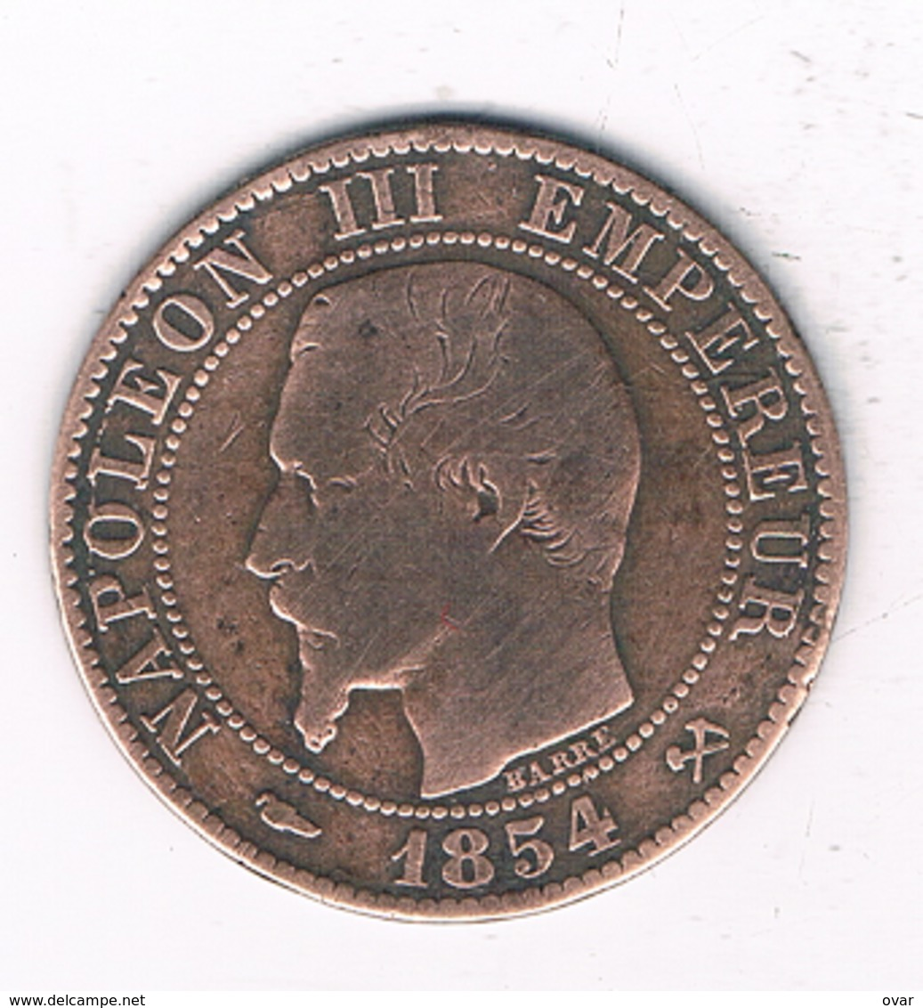 5 CENTIMES  1854 B FRANKRIJK /6431// - France