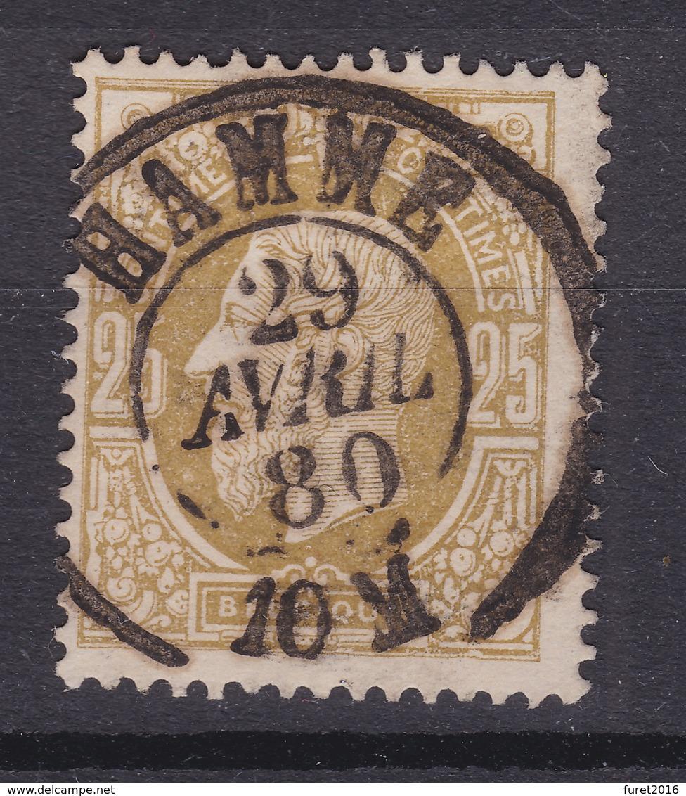 N° 32 :   HAMME  Double Cercle COBA +8.00 - 1869-1883 Léopold II