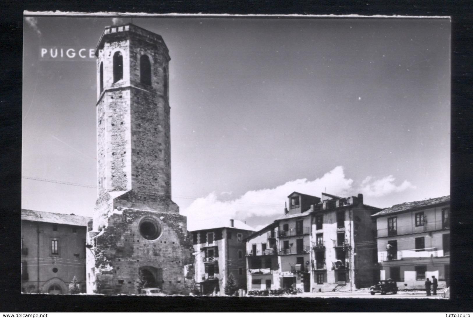PUIGCERDA - GERONA - ANNI 50 - TORRE DE SANTA MARIA - Gerona