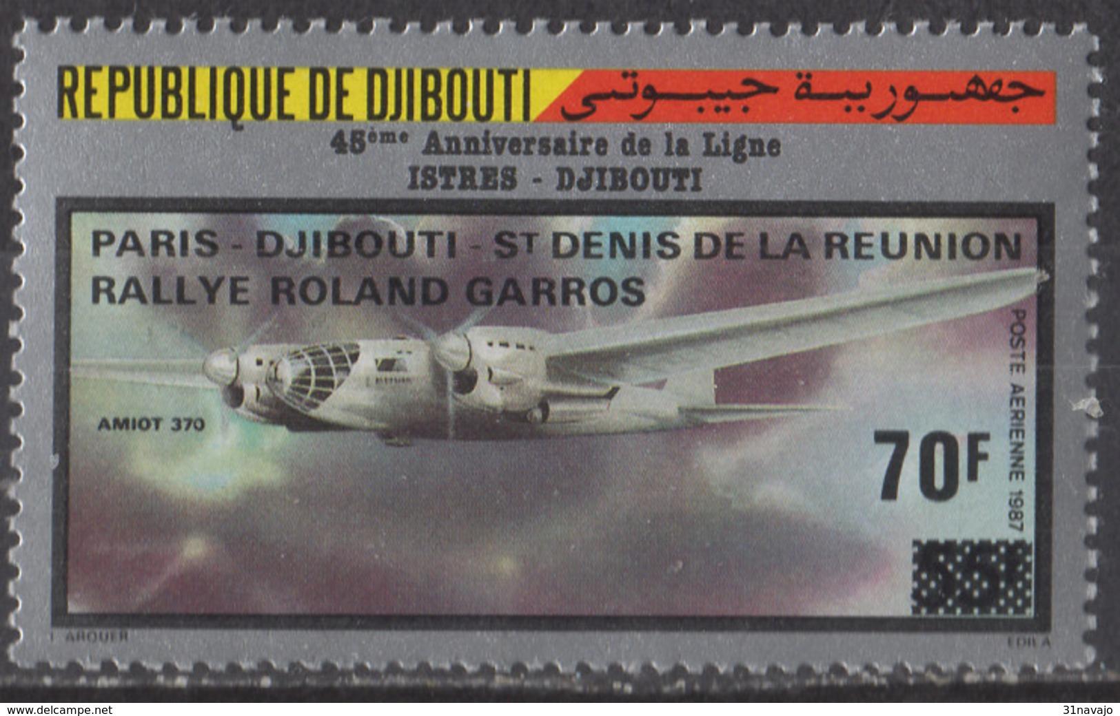 DJIBOUTI - Rallye Roland Garros - Djibouti (1977-...)