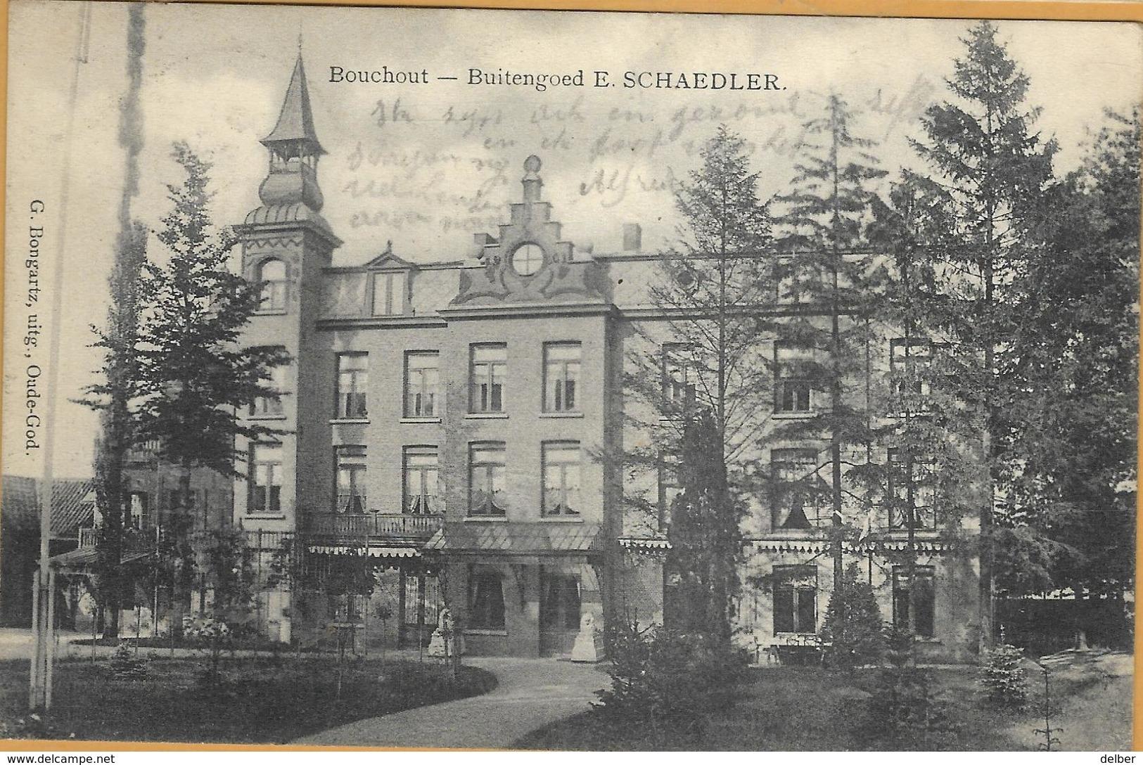 Op-396: S.M. BOUCHOUTE(LIER) 15 IX 1914 > PANNE 5 IX 1914 : Pk: Bouchout -Buitengoed E.SCHAEDELER - Invasion