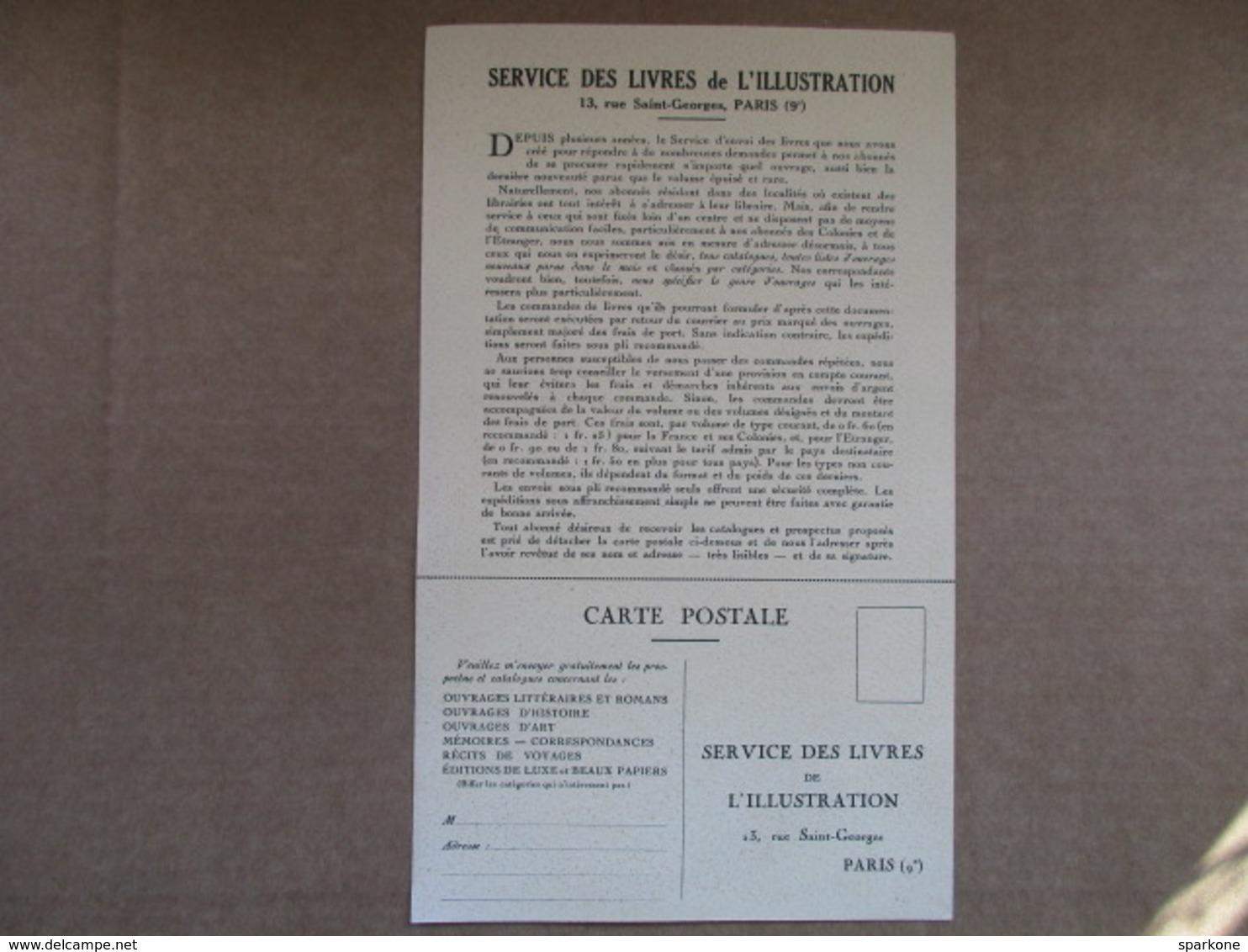 Service Des Livres De L'illustration - Français
