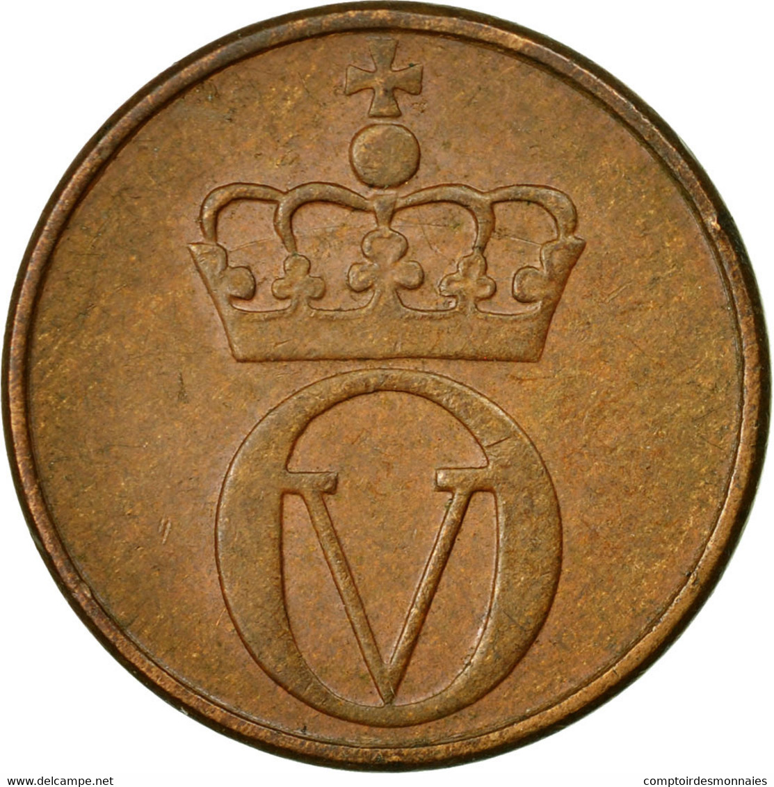 Monnaie, Norvège, Olav V, 2 Öre, 1971, TTB, Bronze, KM:410 - Norvège