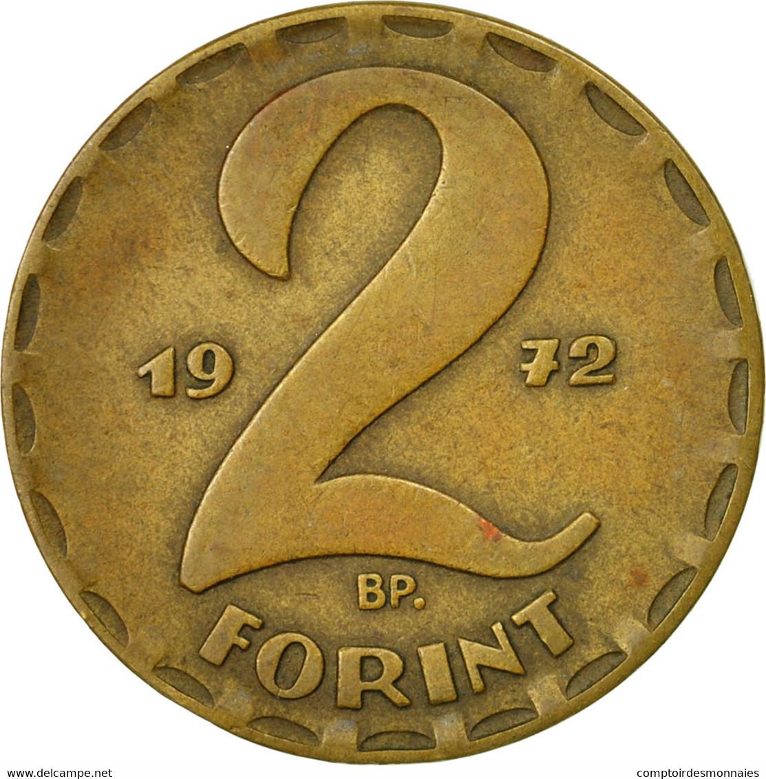 Monnaie, Hongrie, 2 Forint, 1972, TTB, Laiton, KM:591 - Hongrie