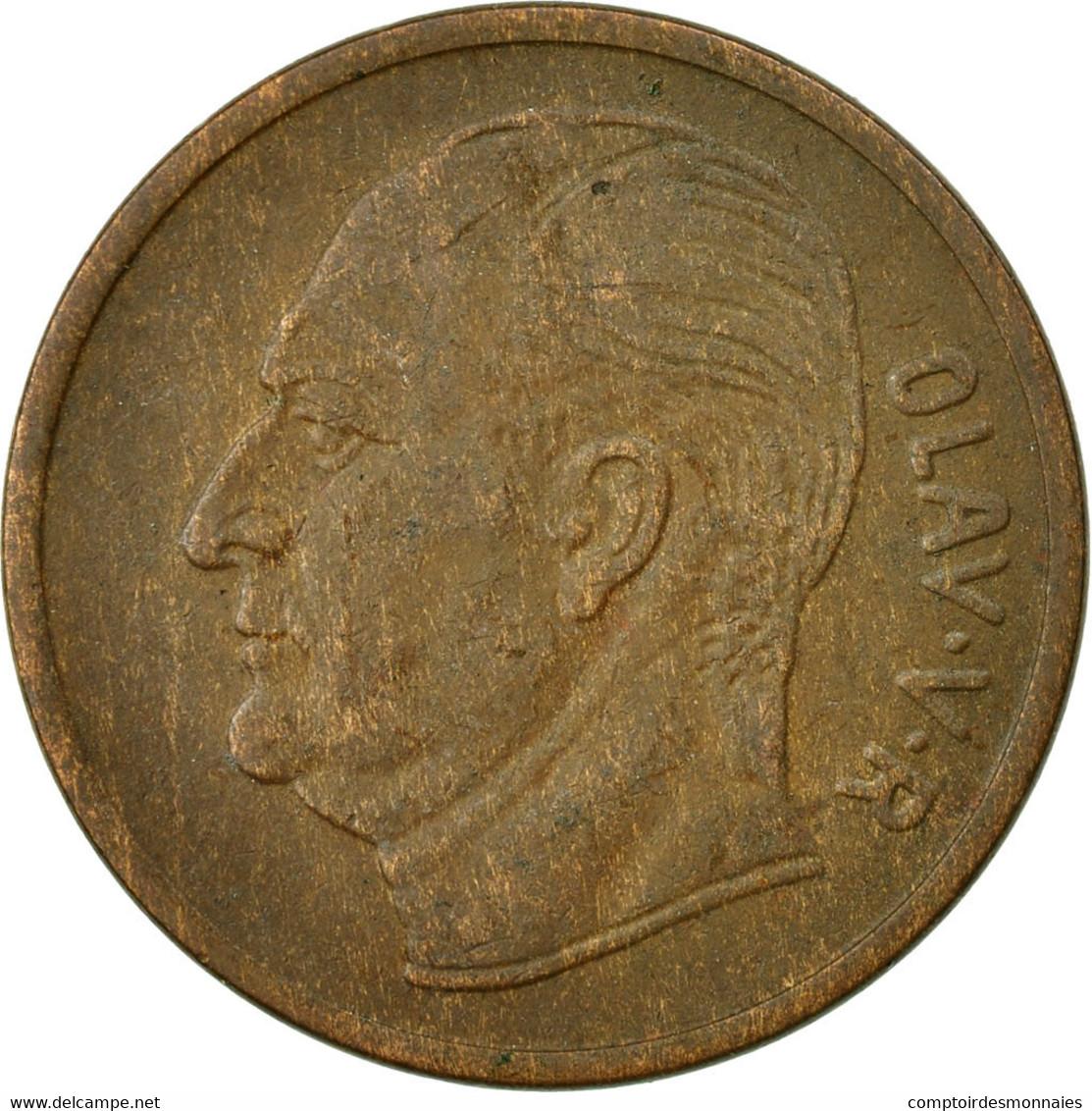 Monnaie, Norvège, Olav V, 5 Öre, 1962, TTB, Bronze, KM:405 - Norvège