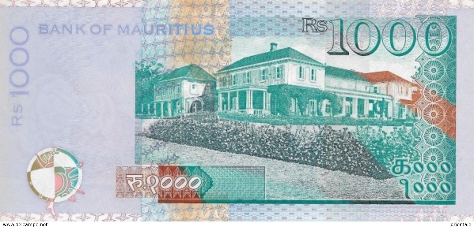MAURITIUS P. 63d 1000 R 2017 UNC - Maurice