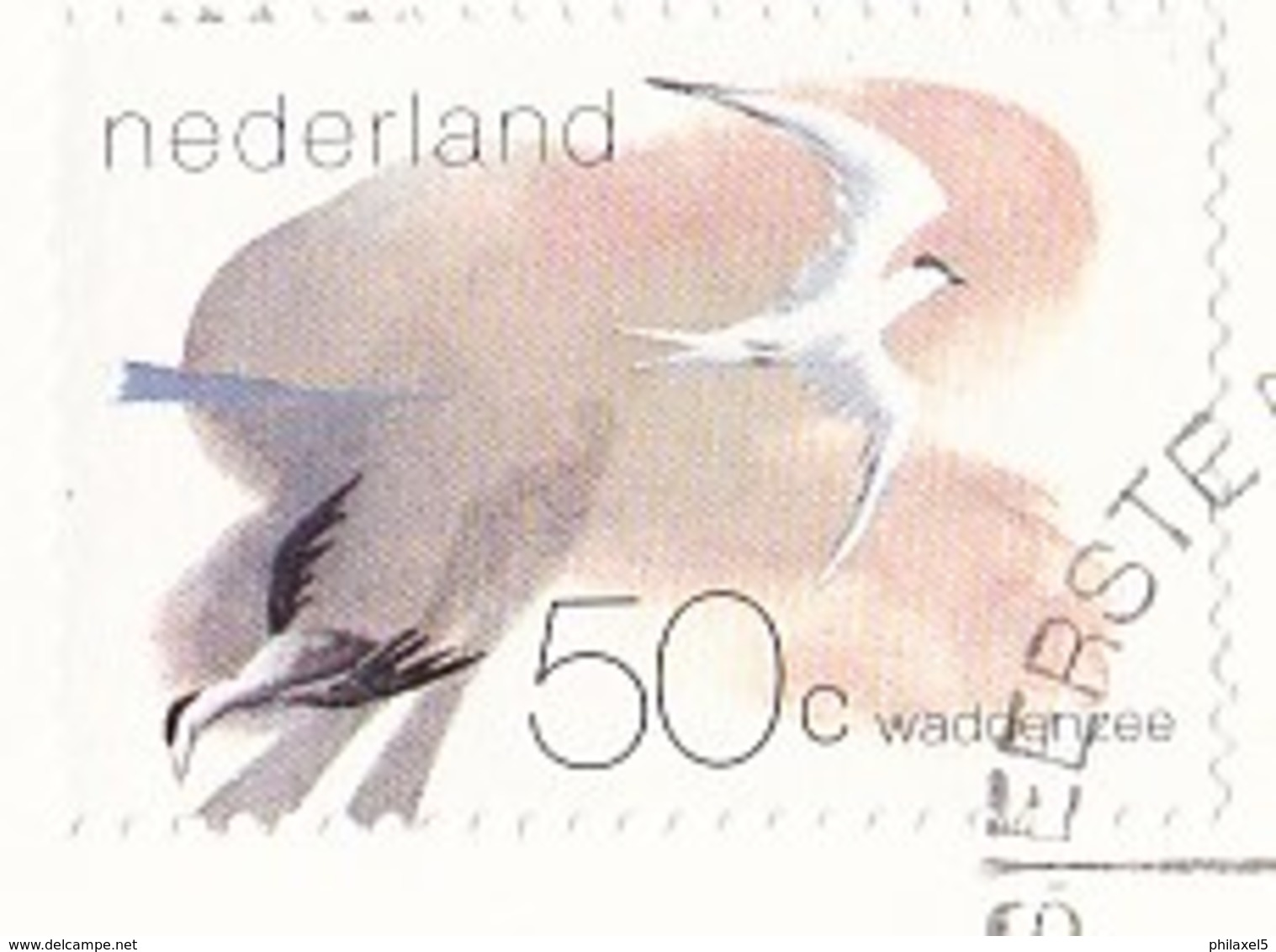Nederland - FDC - Waddengebied - Grote Stern/eidereend/brandganzen/wadloper - NVPH E202 - Milieubescherming & Klimaat