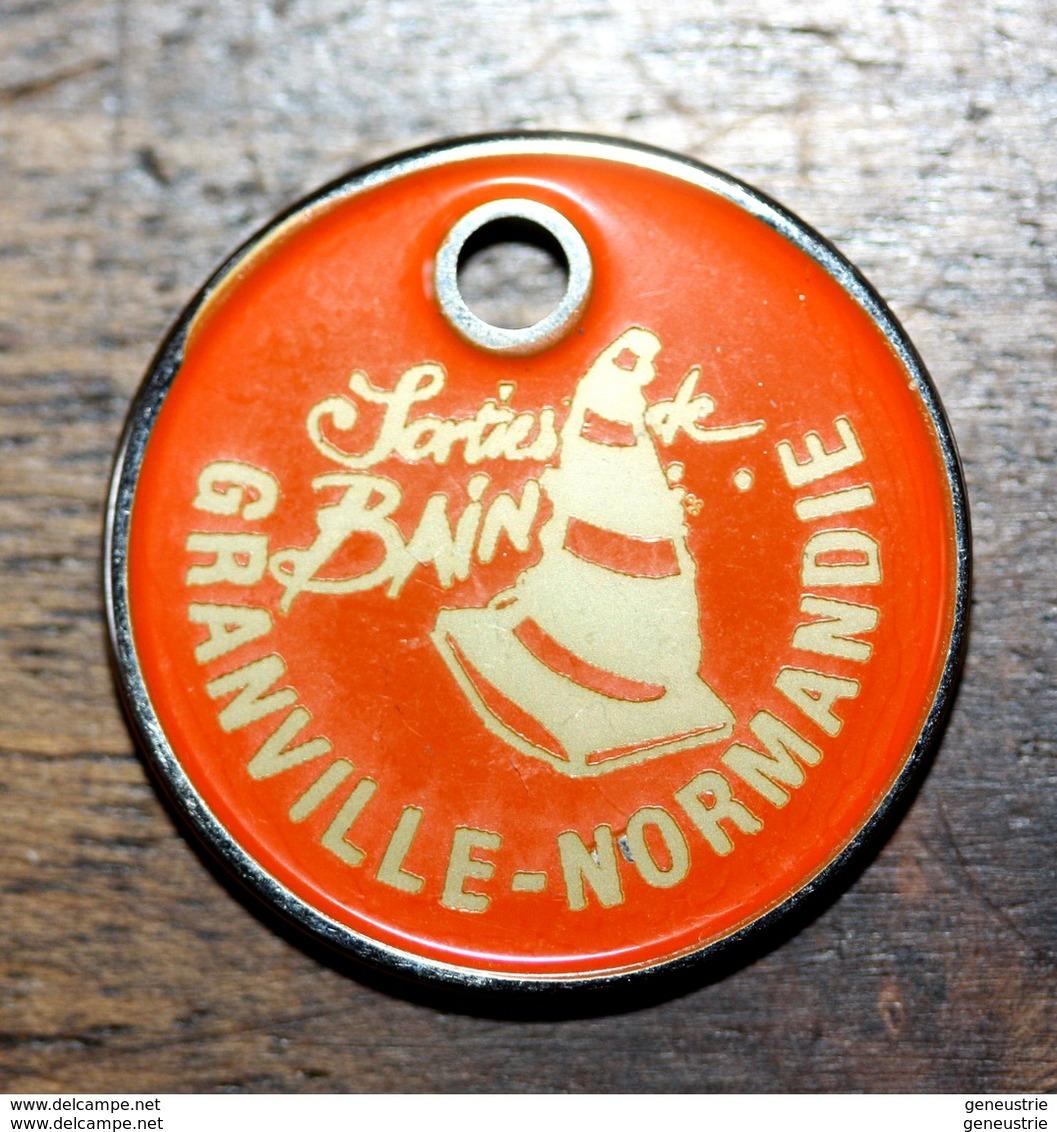"""Jeton De Caddie """"Sorties De Bains - Granville - Normandie"""" - Professionals / Firms"""