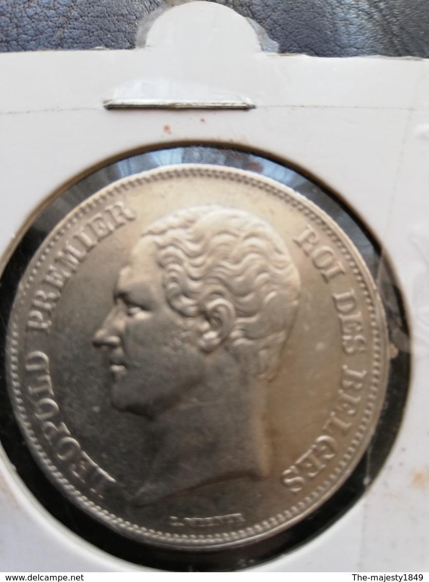 Léopold 1er. 2 1/2 Francs 1848 (rare !) (petite Tete) TTB+ - 1831-1865: Léopold I.