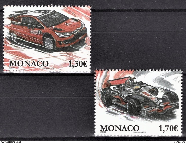 MONACO 2009 SERIE N° 2705 / 2706 NEUFS ** - Monaco