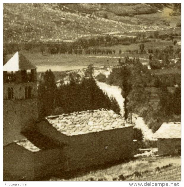 France Alpes Saint-Paul-sur-Ubaye Maurin Chasseurs Alpins Ancienne Photo 1901 - Guerre, Militaire