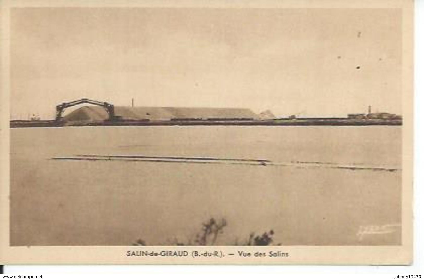 SALIN-DE-GIRAUD - VUE DES SALINS - France