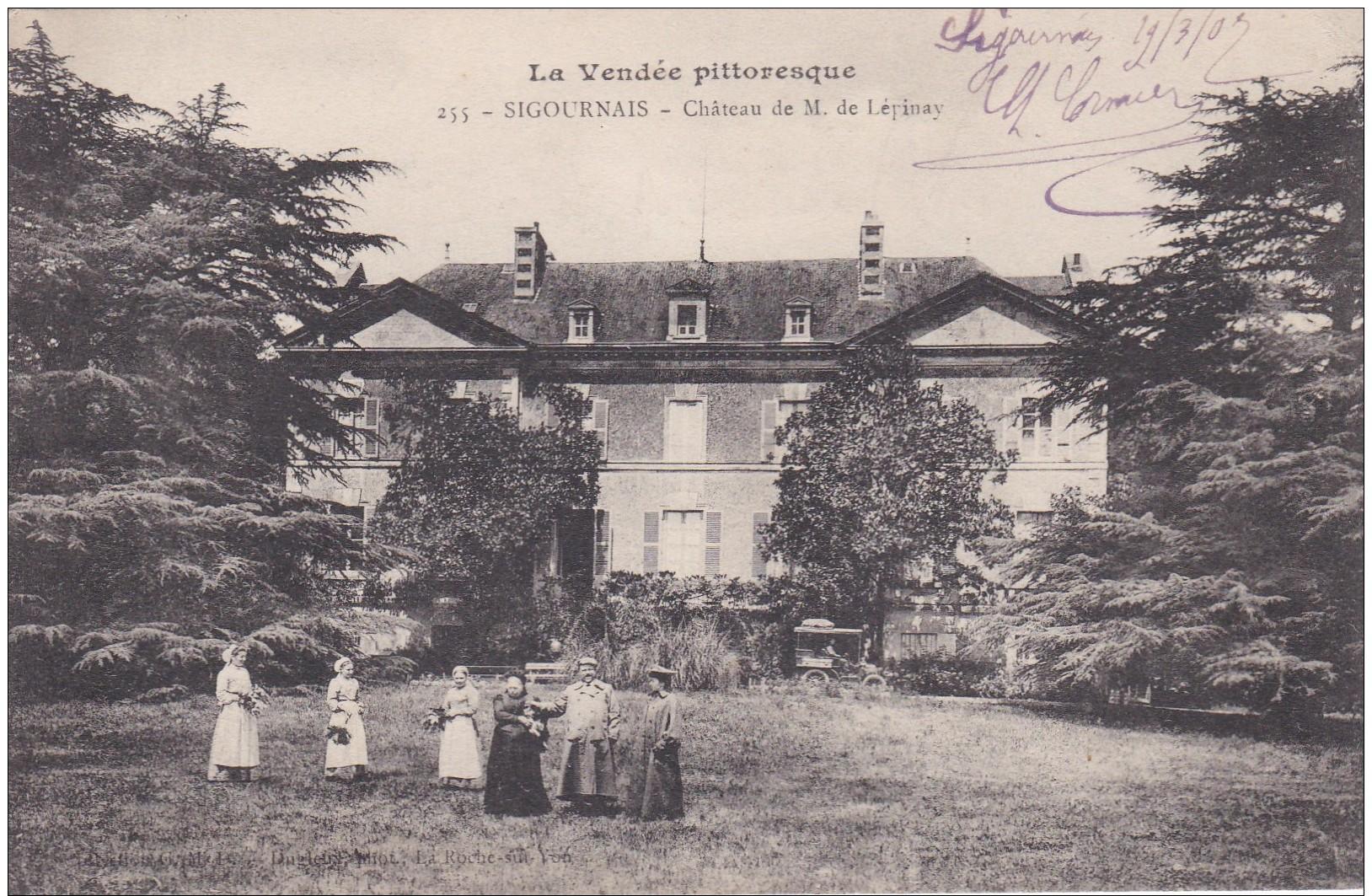D22 - 85 - Sigournais - Vendée - Château De M. De Lépinay - La Vendée Pittoresque N° 255 - France