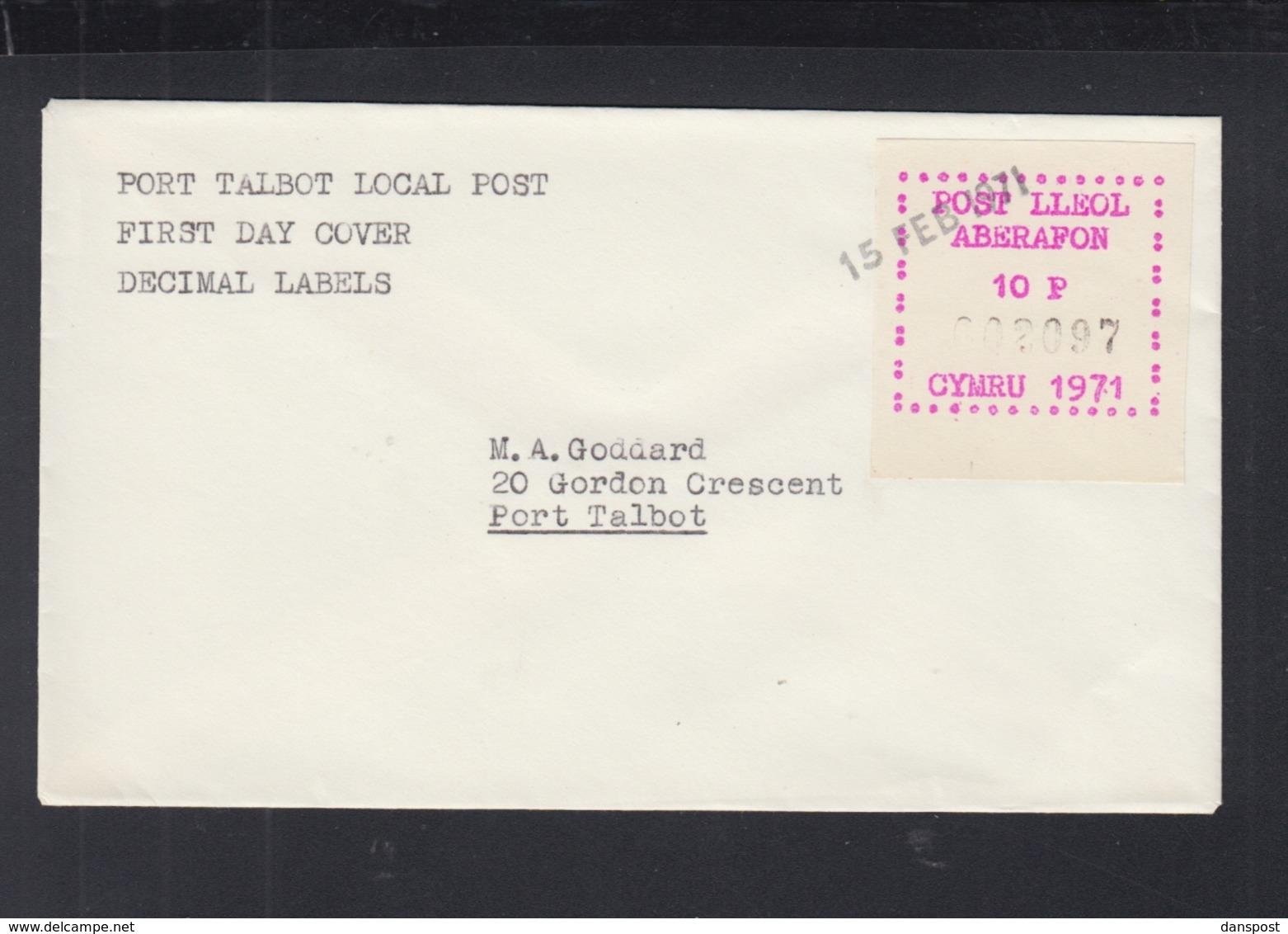 Great Britain Port Talbot Local Post 1971 - Regionalmarken