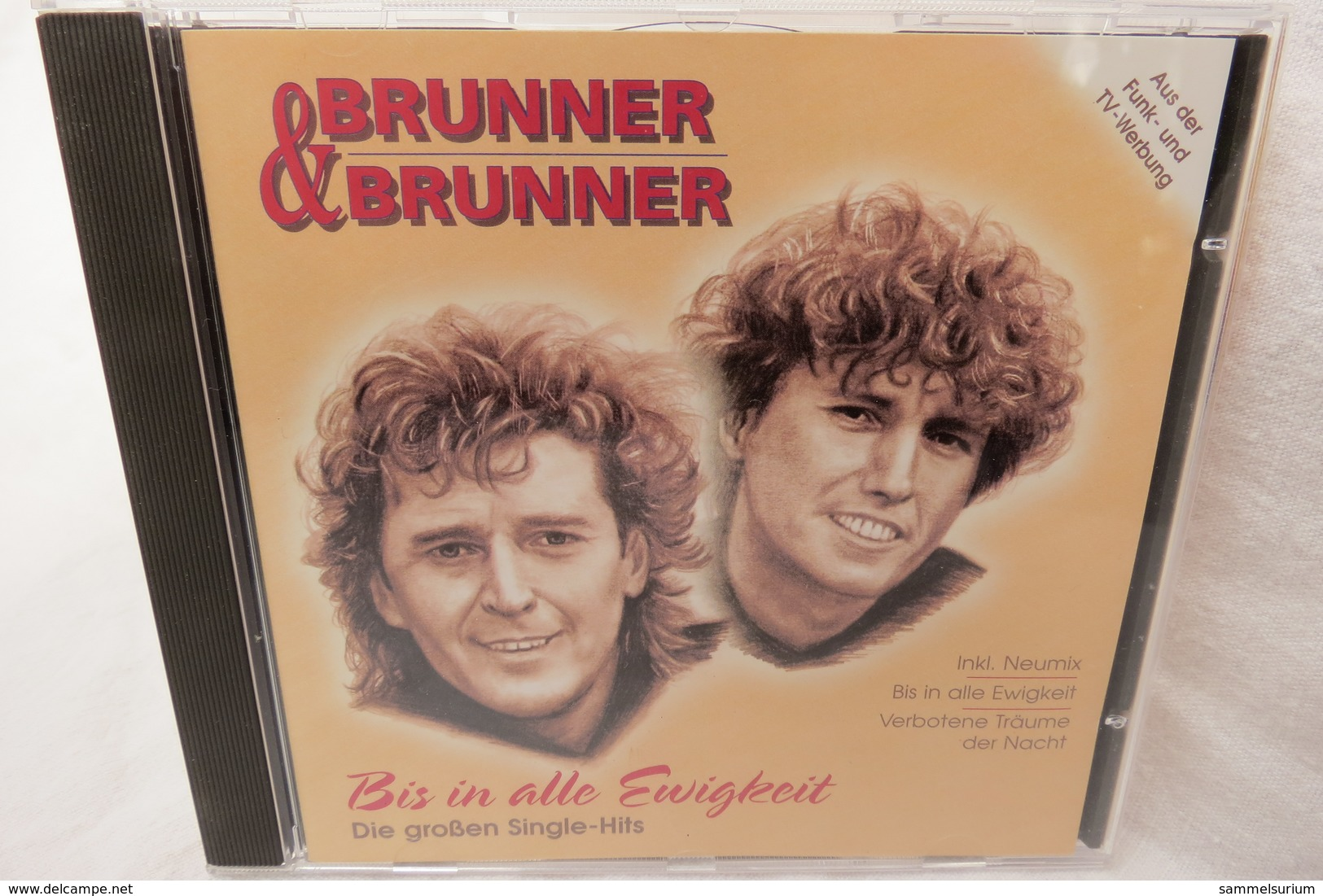 """CD """"Brunner & Brunner"""" Bis In Alle Ewigkeit, Die Grossen Single-Hits - Musik & Instrumente"""