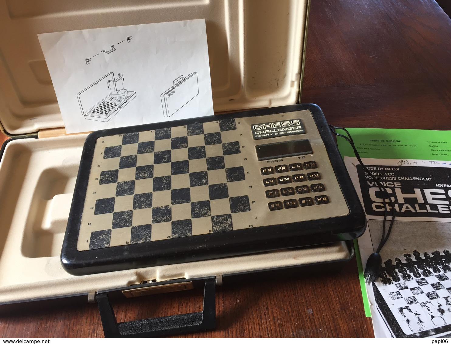 Echecs. Chess Challenger Voice - Electronic Games