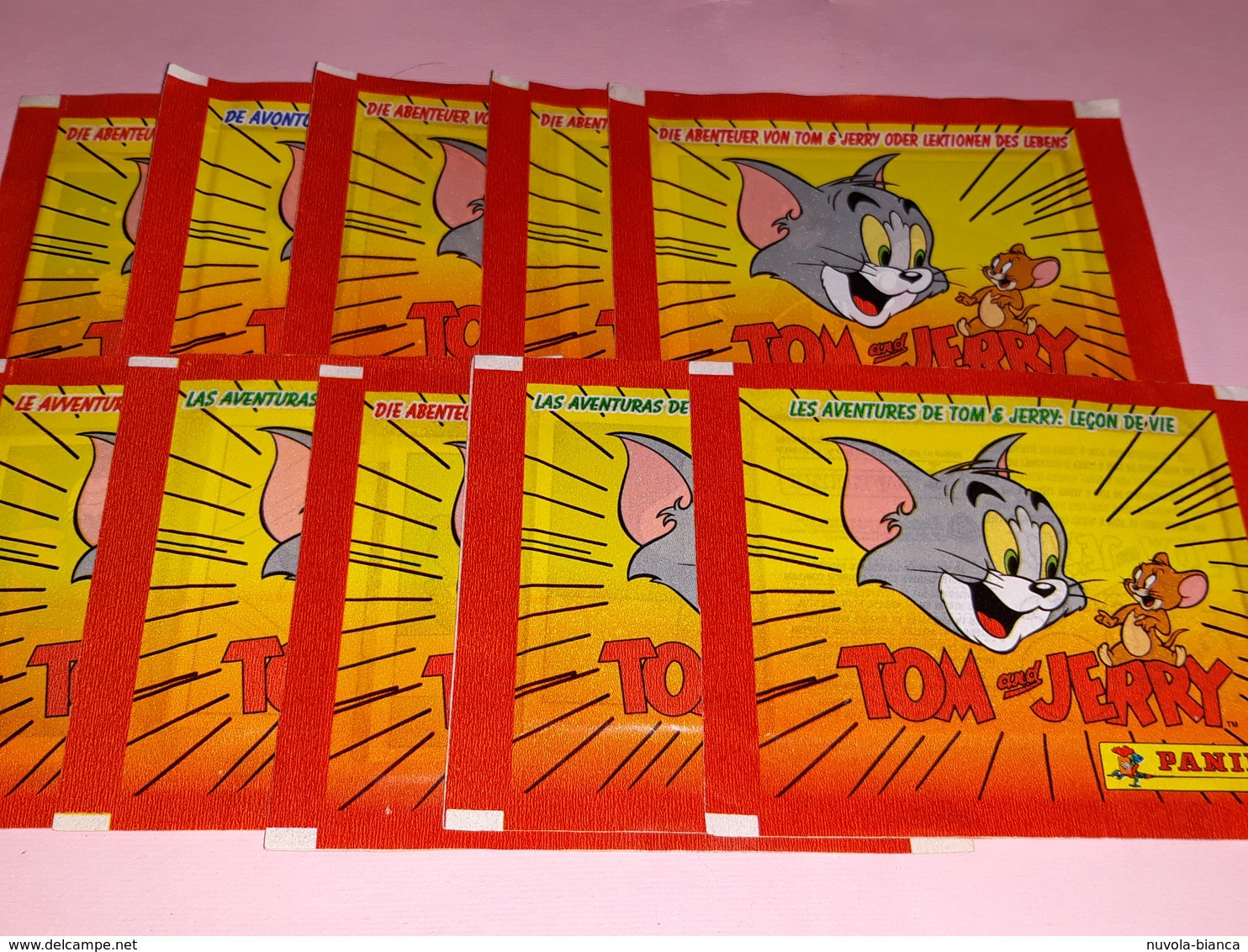 Tom And Jerry...10 Bustine Con Figurine Panini - Edizione Italiana