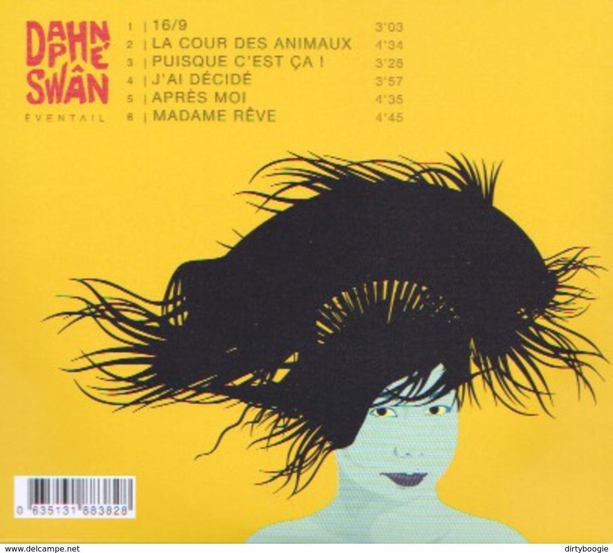Daphé SWÂN - Eventail - CD - CHANSON FRANCAISE - Alain BASHUNG - Musik & Instrumente