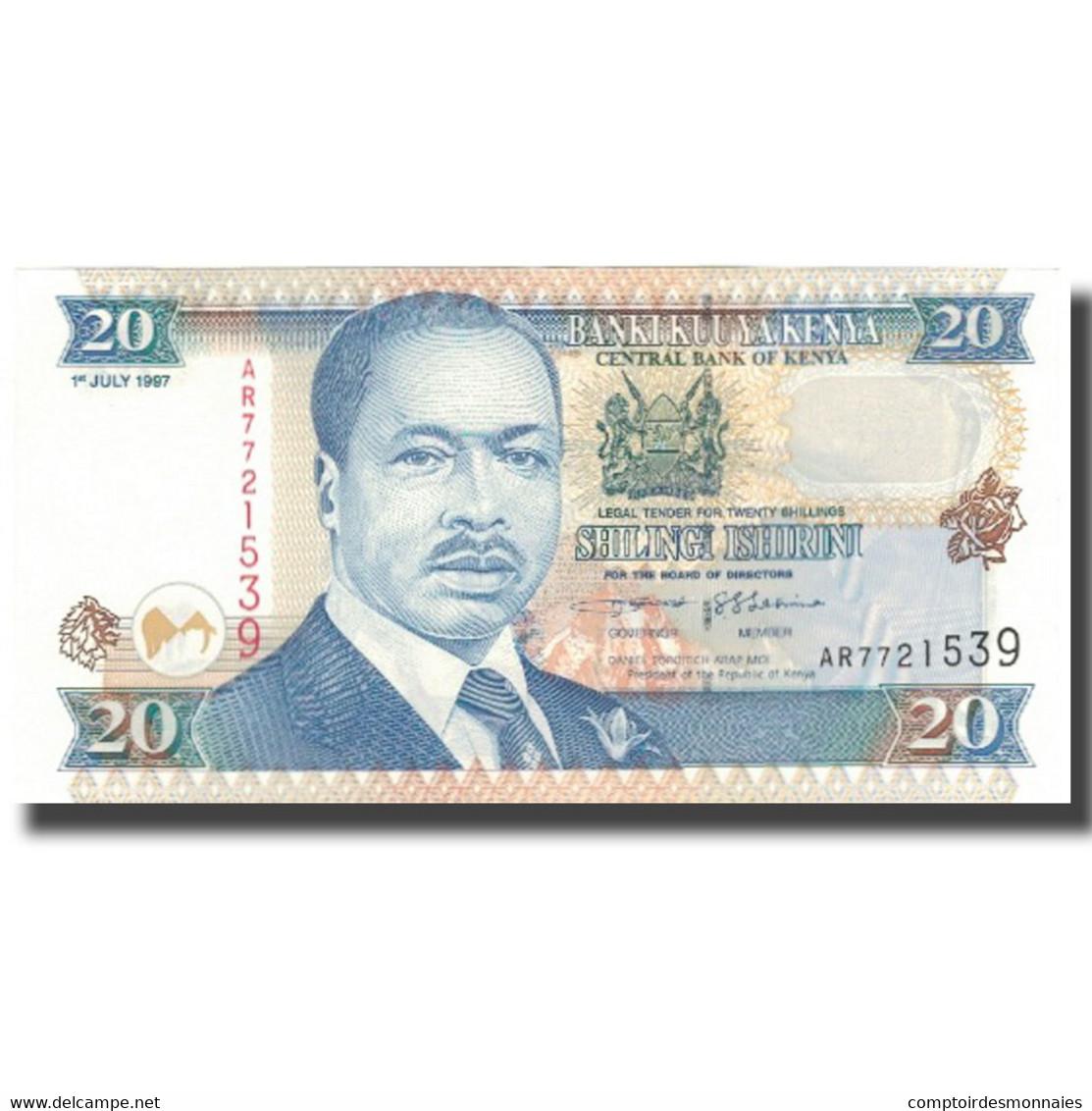 Billet, Kenya, 20 Shillings, 1997, 1978-07-01, KM:35b, NEUF - Kenya
