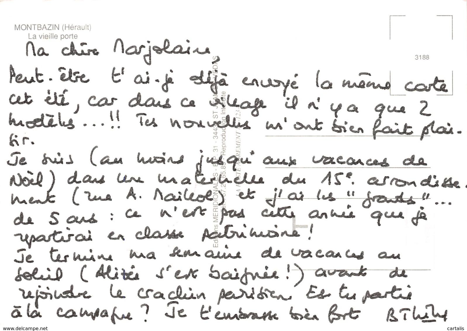 34-MONTBAZIN-N°C-4343-C/0267 - France