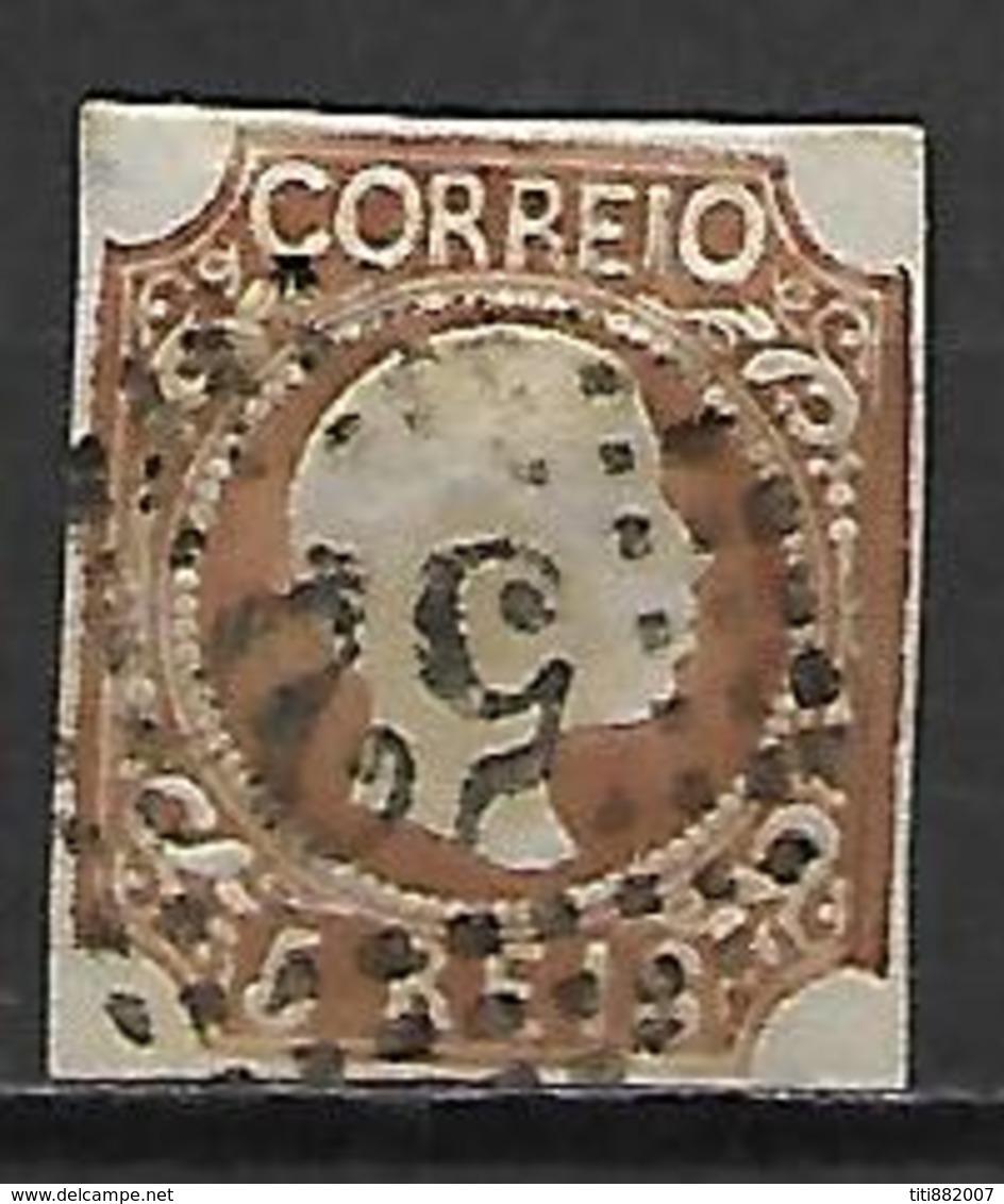 PORTUGAL    -    1856.    Y&T N° 9 Oblitéré. - 1855-1858 : D.Pedro V
