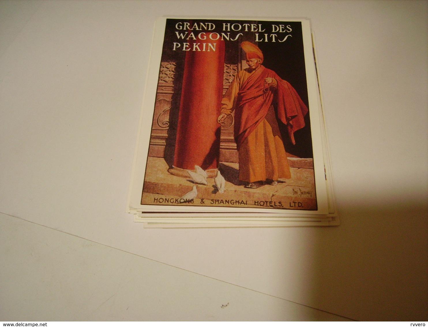 PUBLICITE GRAND HOTEL DES WAGONS LITS PEKIN - France