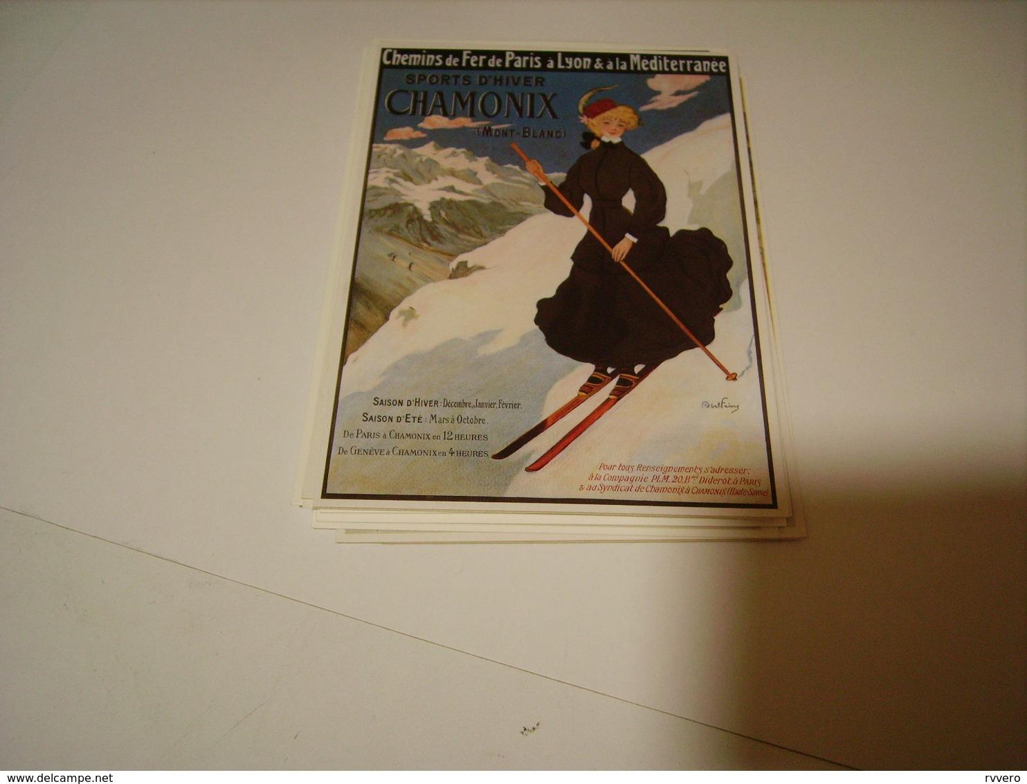 PUBLICITE SPORT D HIVER CHAMONIX - France