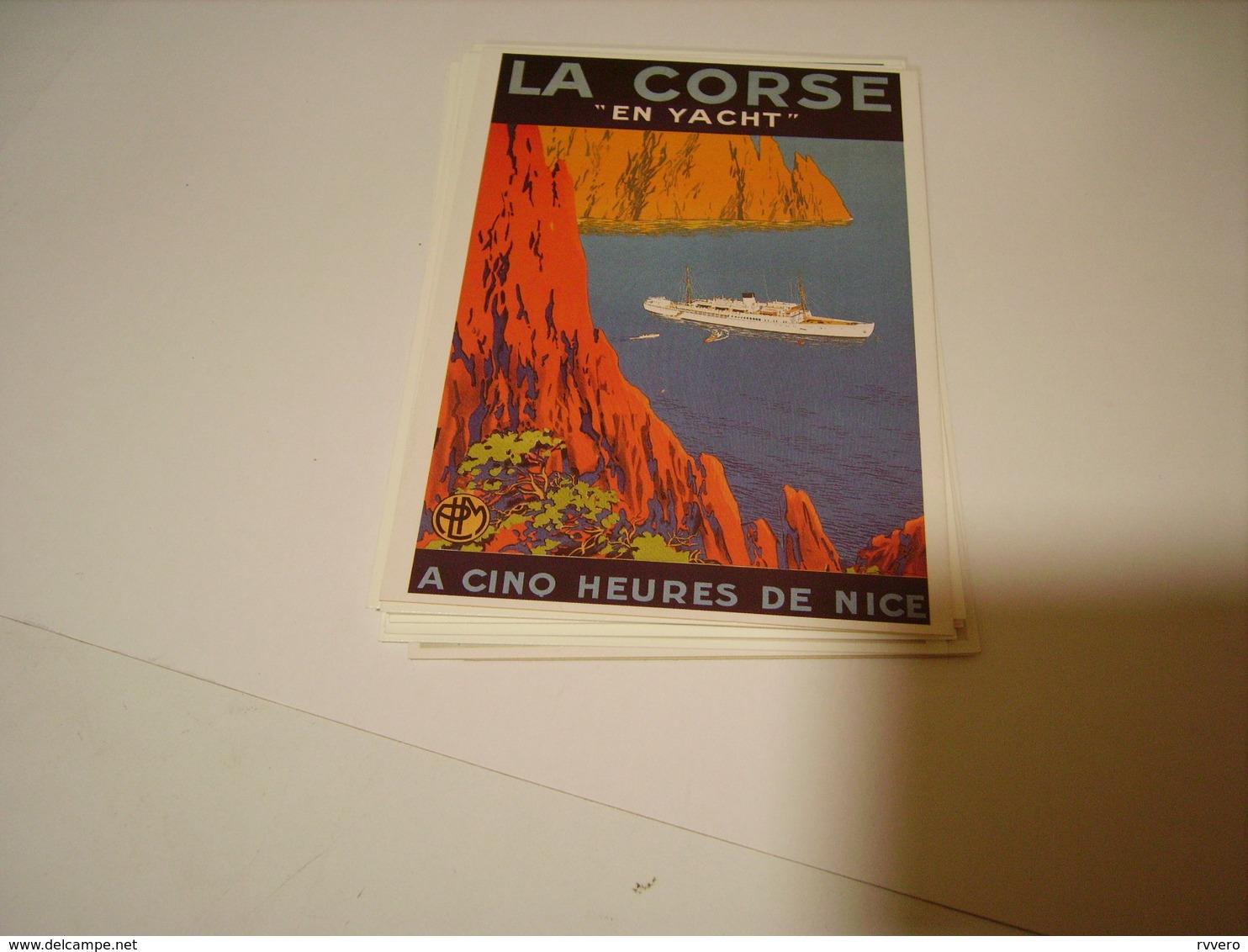 PUBLICITE LA CORSE EN YACHT - Francia