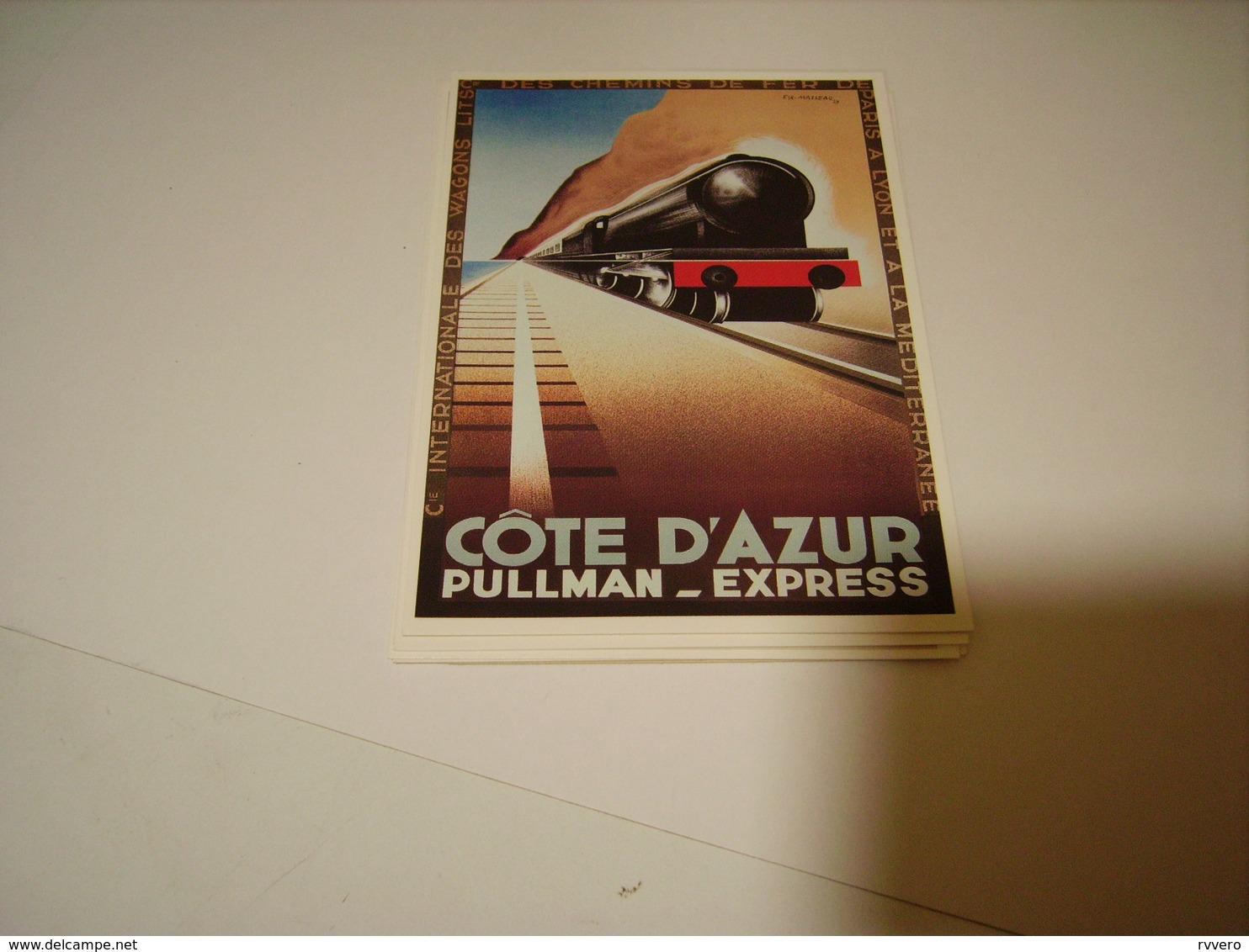 PUBLICITE COTE D AZUR PULLMAN EXPRESS - Non Classificati