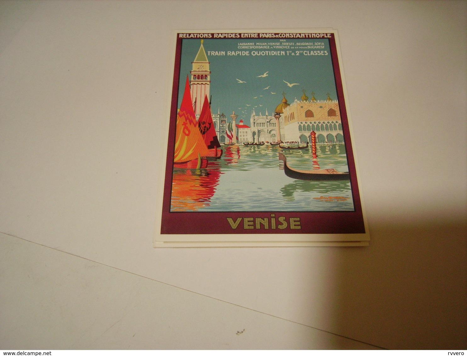 PUBLICITE TRAIN RAPIDE VENISE - France